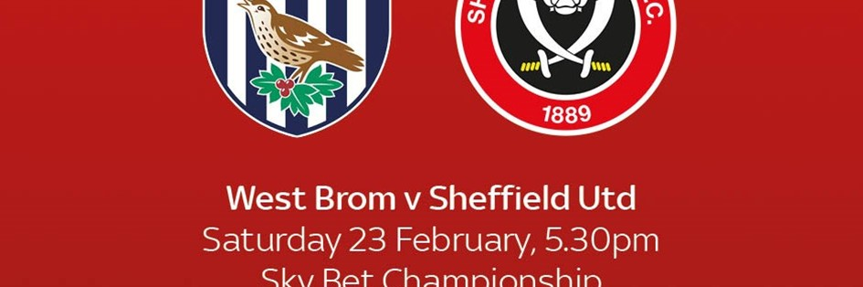 West Bromwich Albion v Sheffield United (Football League)