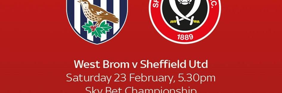West Bromwich Albion v Sheffield United (Football League)