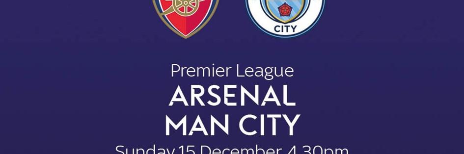 Arsenal v Manchester City (Premier League)
