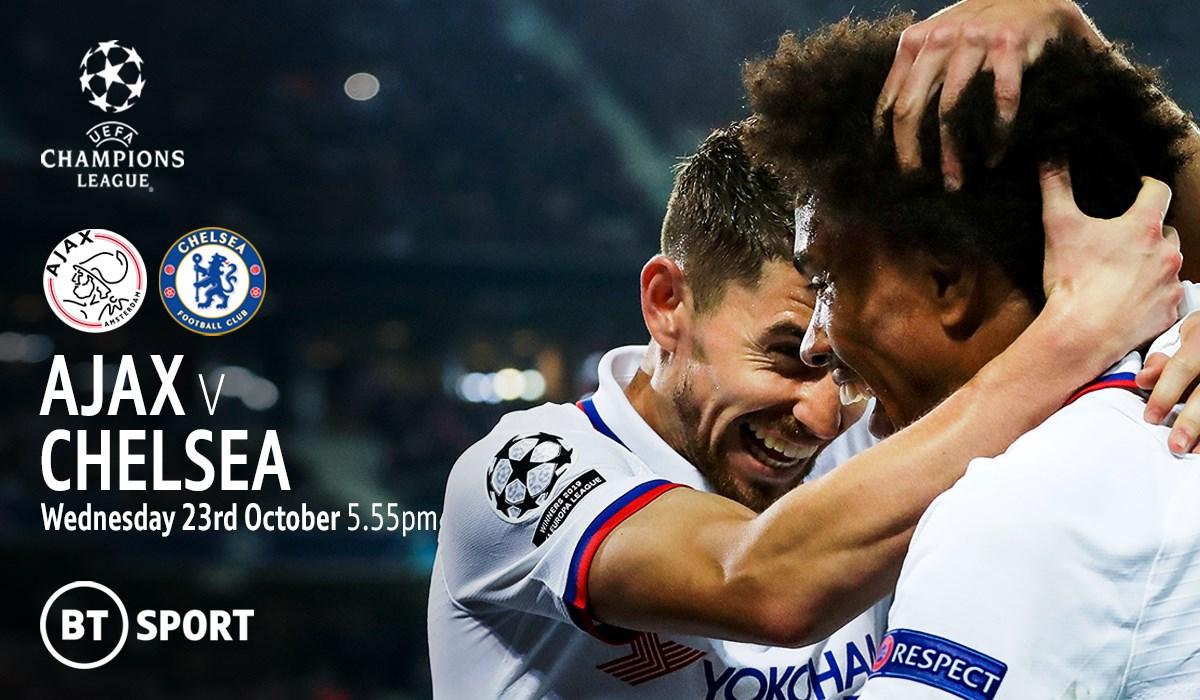 Ajax v Chelsea (Champions League)