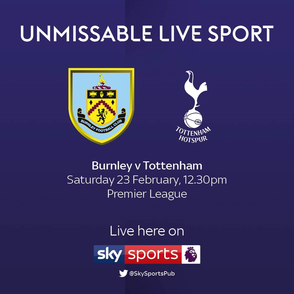 Burnley v Tottenham Hotspur (Premier League)