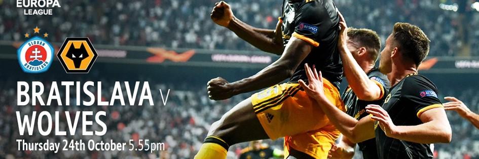 Slovan Bratislava v Wolves (Europa League)