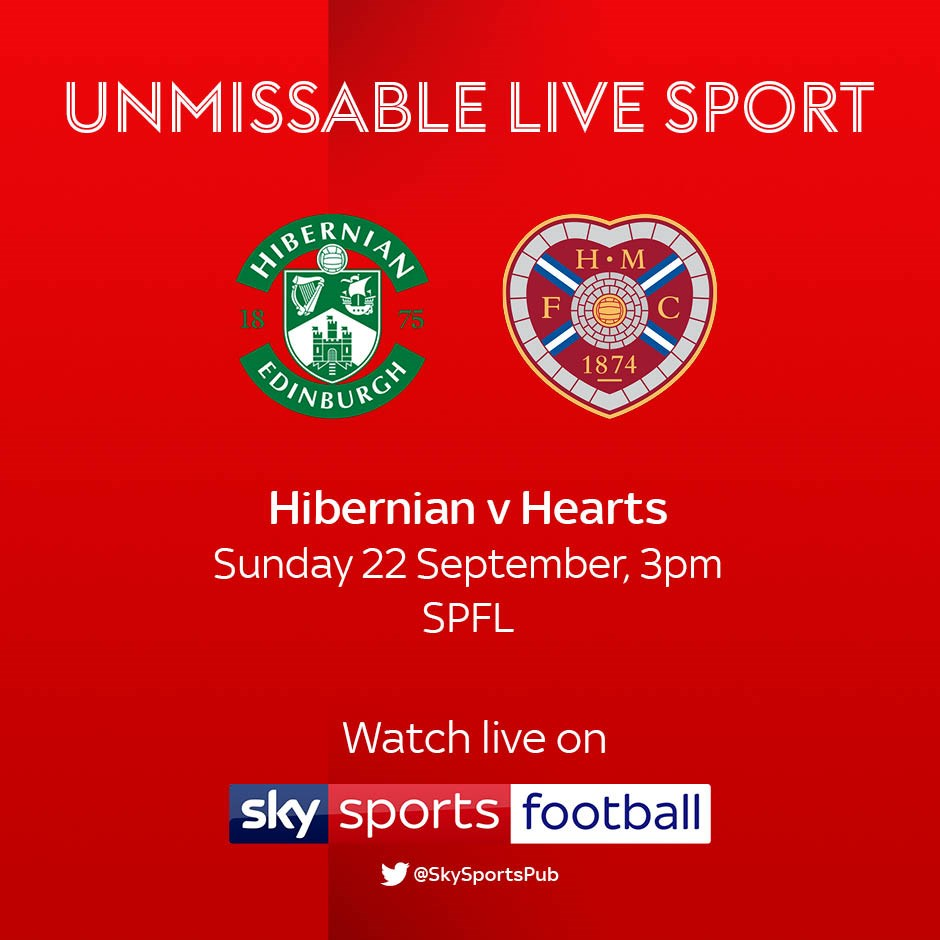 Hibernian v Hearts (Scottish Premier League)