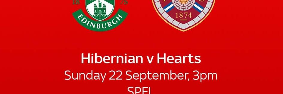 Hibernian v Hearts (Scottish Premier League)