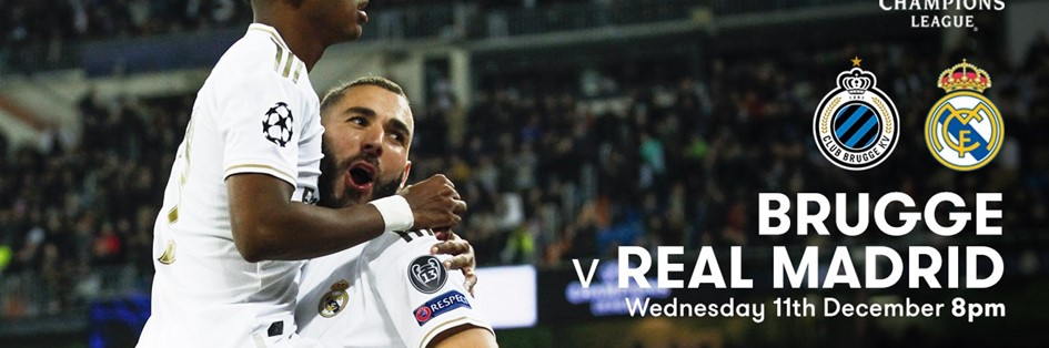 Club Brugge v Real Madrid (Champions League)