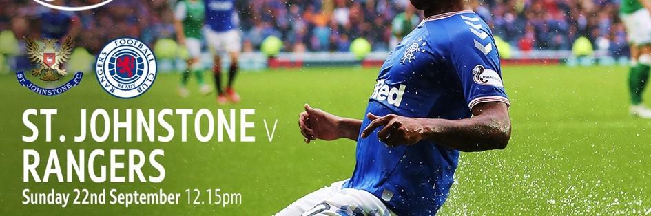 St. Johnstone v Rangers (Scottish Premier League)