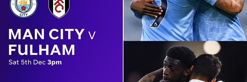 Manchester City v Fulham (Premier League)