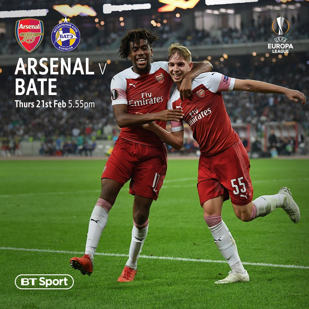 Arsenal v BATE (Europa League)