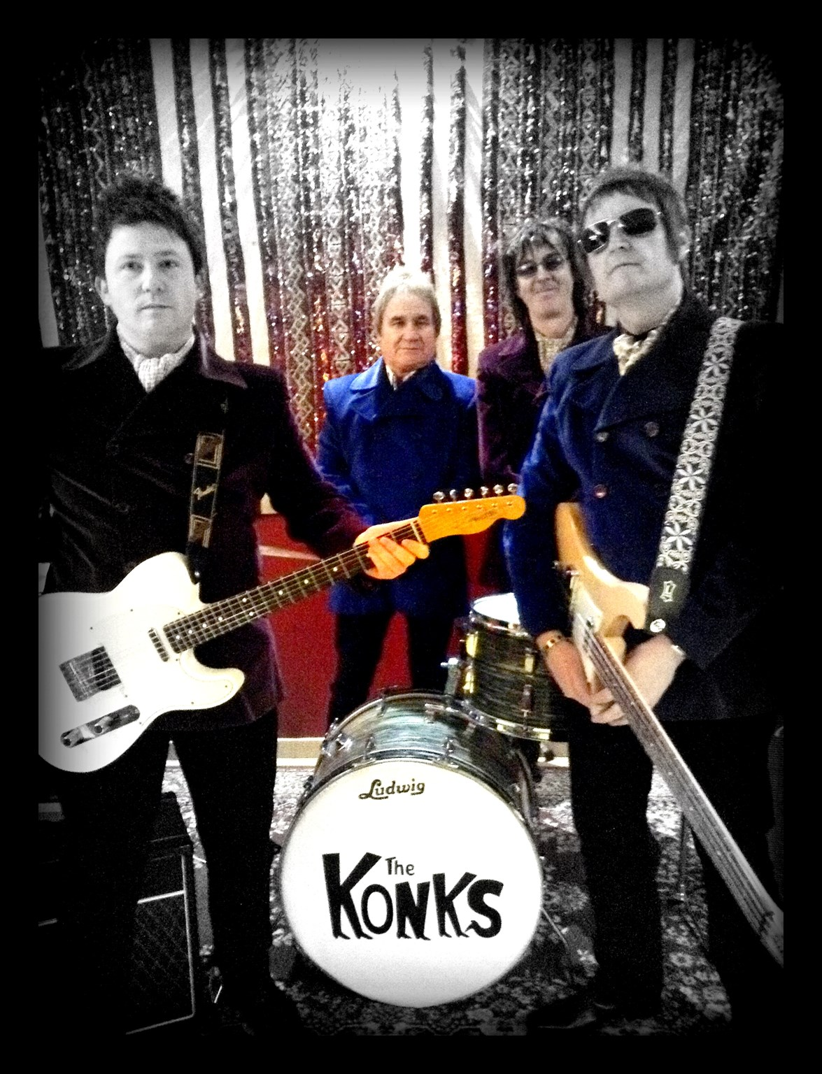 Live music with The Konks