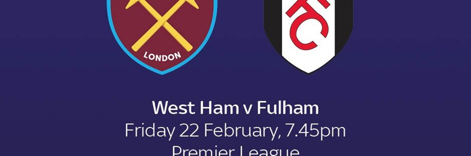 West Ham v Fulham (Premier League)
