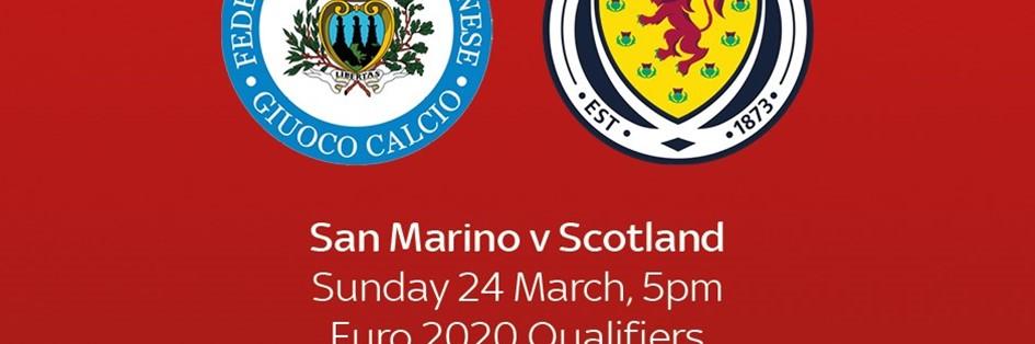 San Marino v Scotland (Euro 2020)