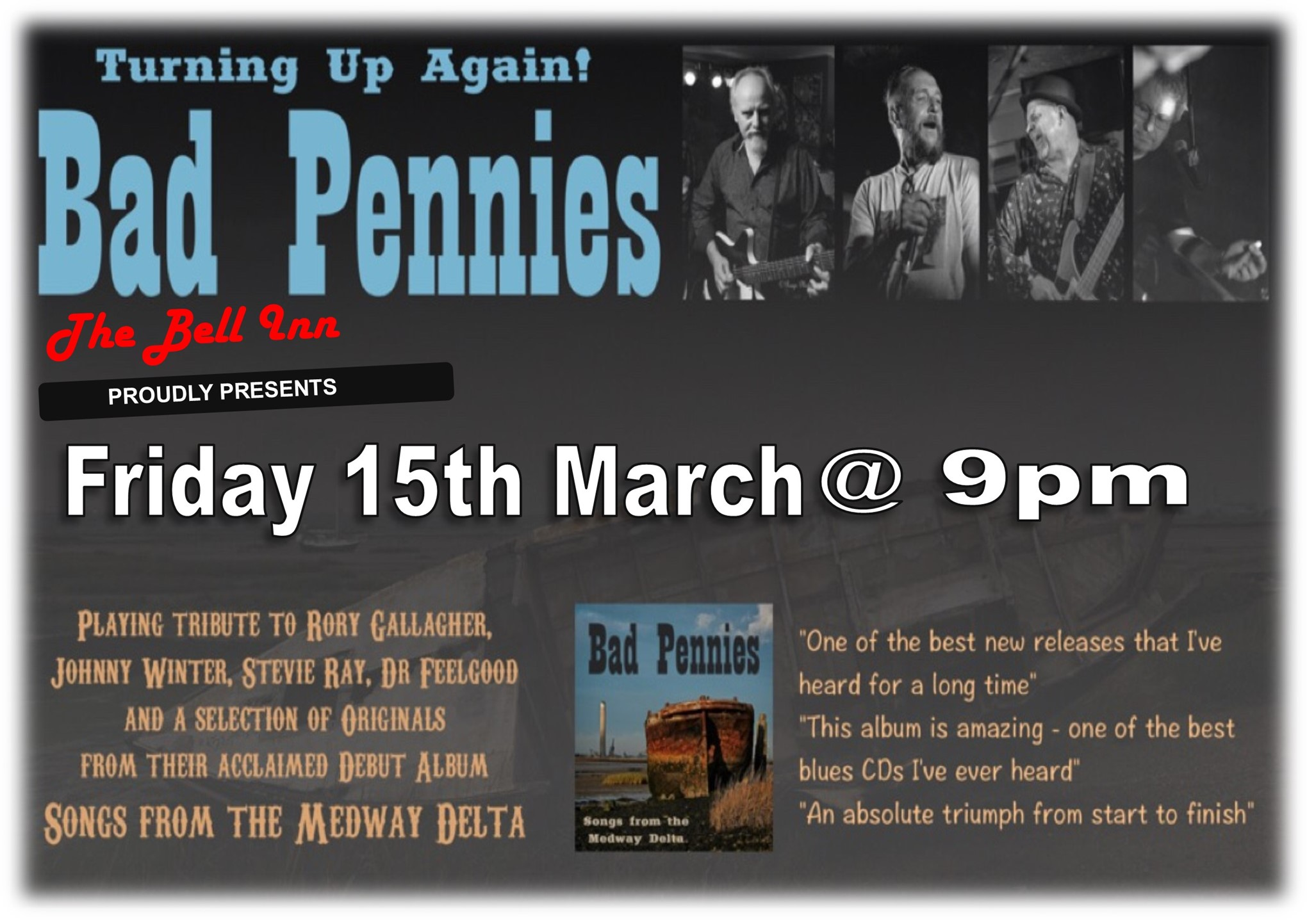 Live music with Bad Pennies