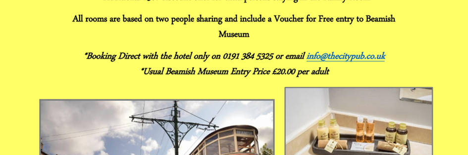 Beamish Accomodation Offer