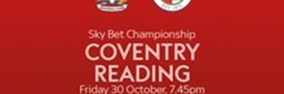 Coventry City v Reading (Football League)