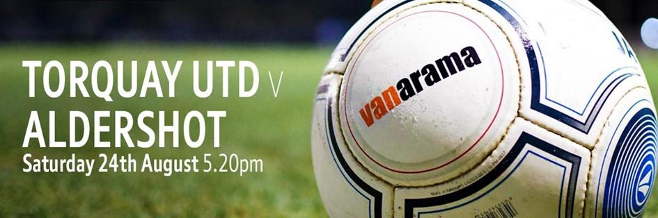 Torquay v Aldershot (Vanarama National League)