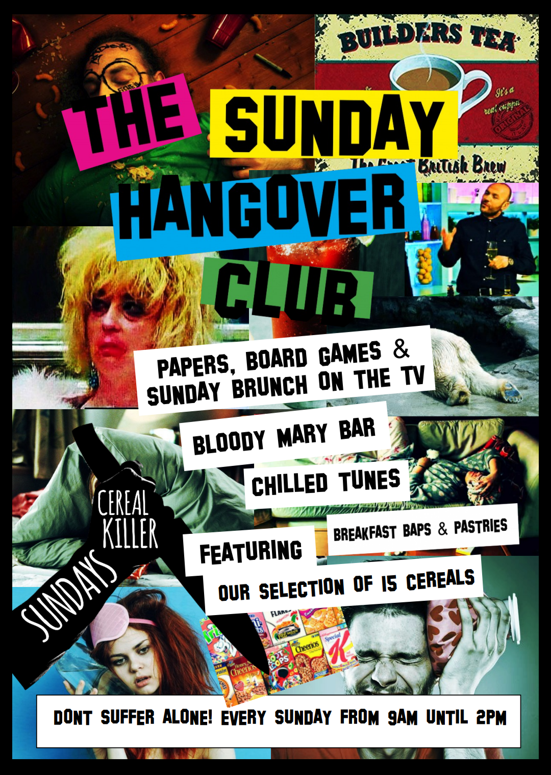 SUNDAY HANGOVER CLUB
