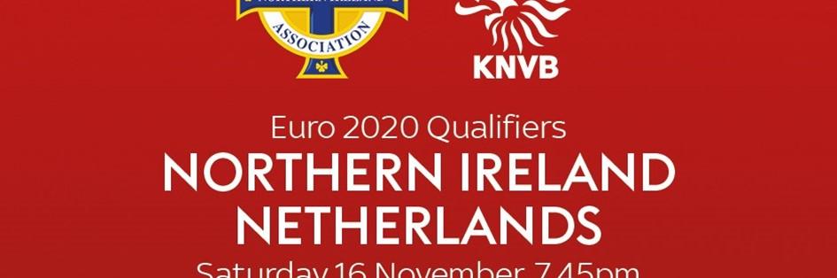 Northern Ireland v Netherlands (Euro 2020)