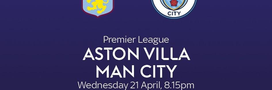 Aston Villa v Manchester City (Premier League)