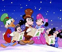 Carols round the Christmas tree