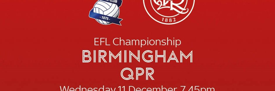 Birmingham City v Queens Park Rangers (Football League)