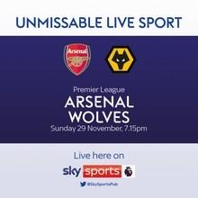 Arsenal v Wolverhampton Wanderers (Premier League)