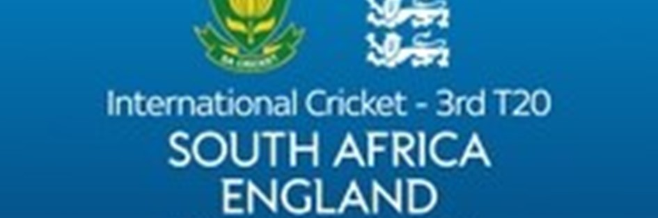 Cricket International T20: South Africa v England (Cricket England England T20)