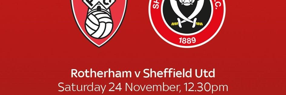 Rotherham United v Sheffield United (Football League)