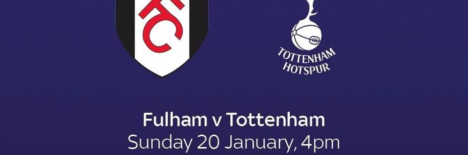 Fulham v Tottenham Hotspur (Premier League)