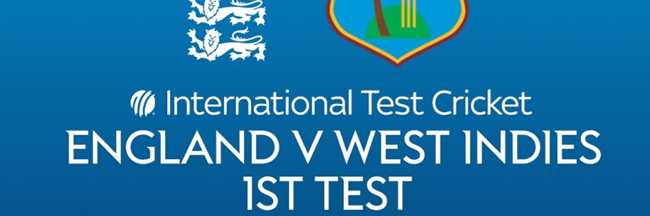 Cricket Test Match: England v West Indies (Cricket England Test Match)
