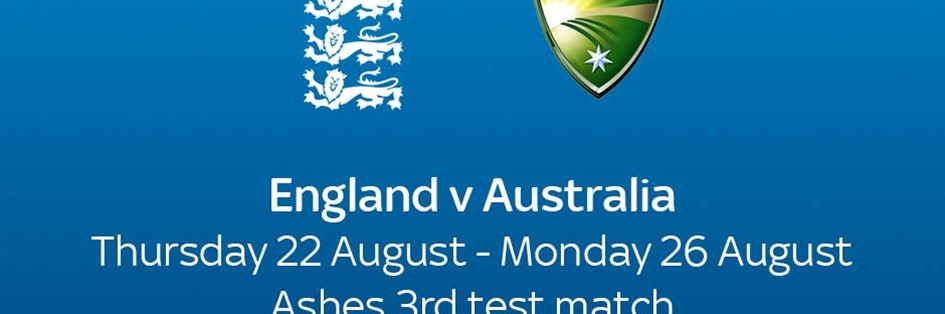 Cricket Test Match: England v Australia (Cricket England Test Match)