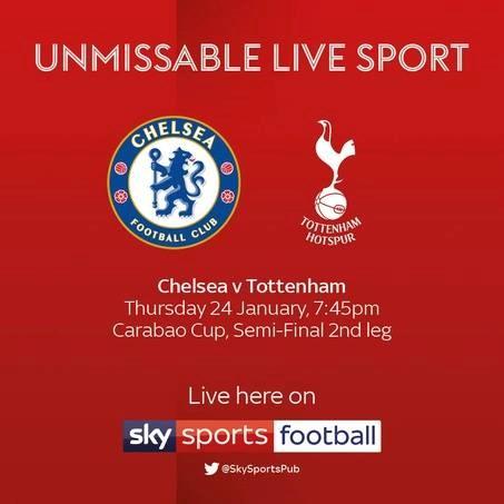 Chelsea v Tottenham Hotspur (EFL Cup)