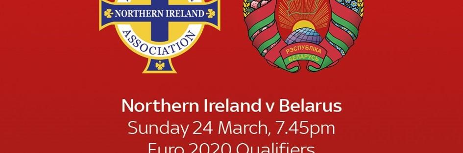 Northern Ireland v Belarus (Euro 2020)
