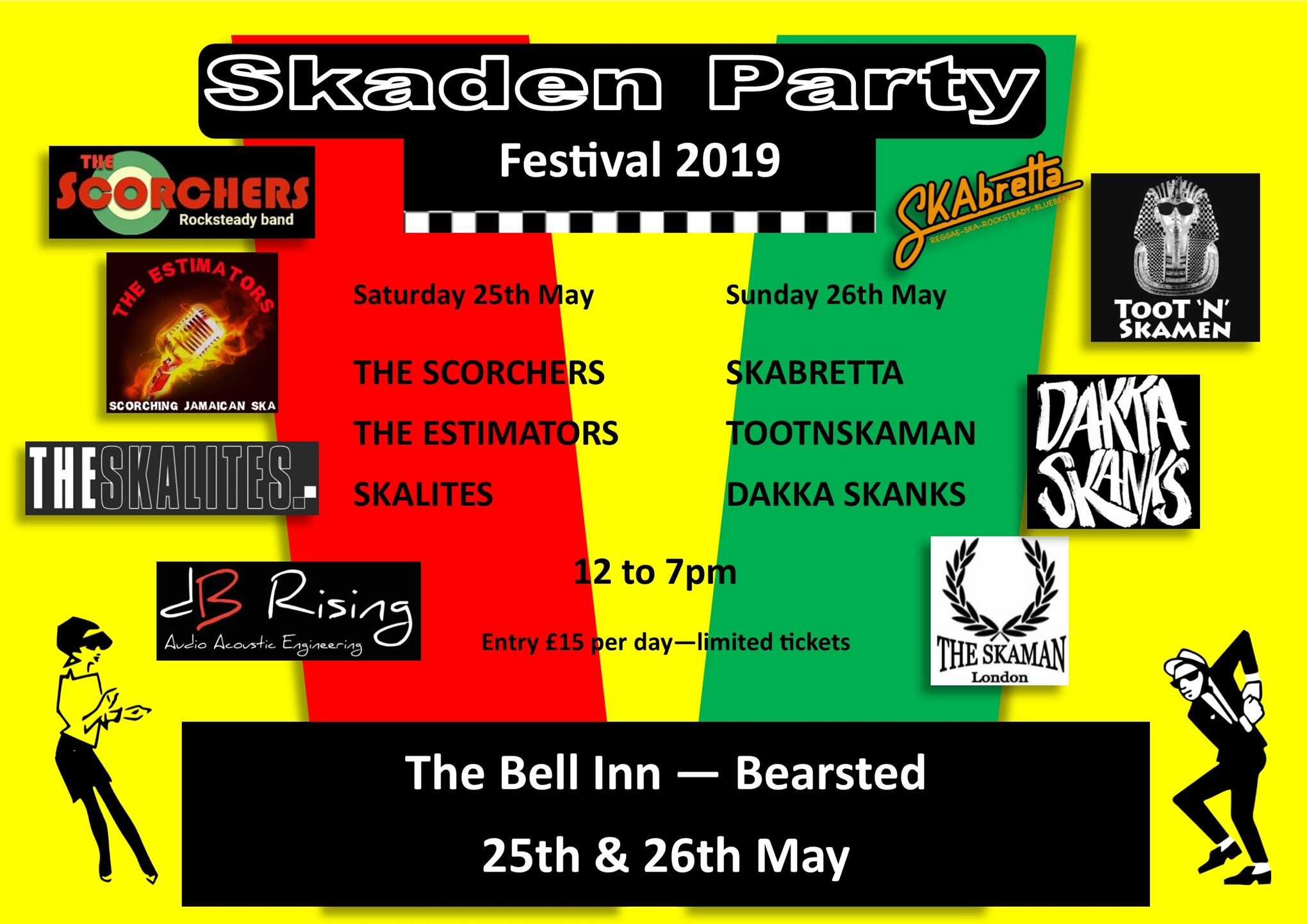 Bearsted's Skaden Party 2019