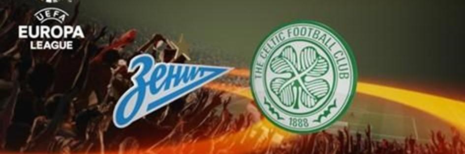Zenit v Celtic (Europa League)