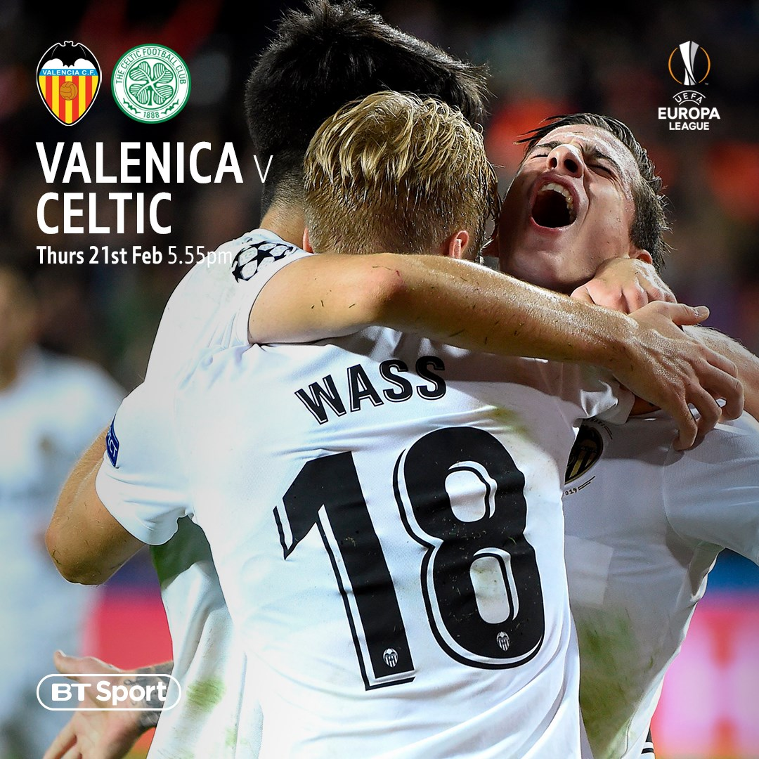 Valencia v Celtic (Europa League)
