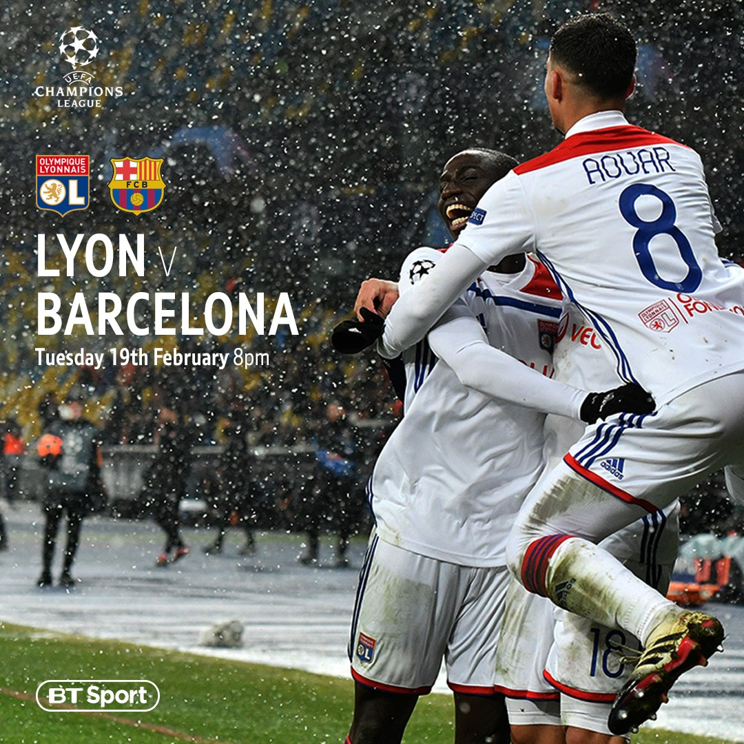Lyon v Barcelona (Champions League)