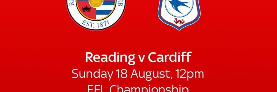 Reading v Cardiff City (Football League)