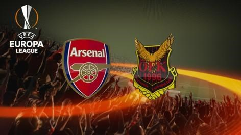 Arsenal v Ostersund (Europa League)