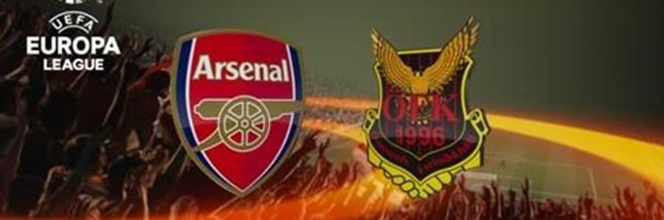 Arsenal v Ostersund (Europa League)