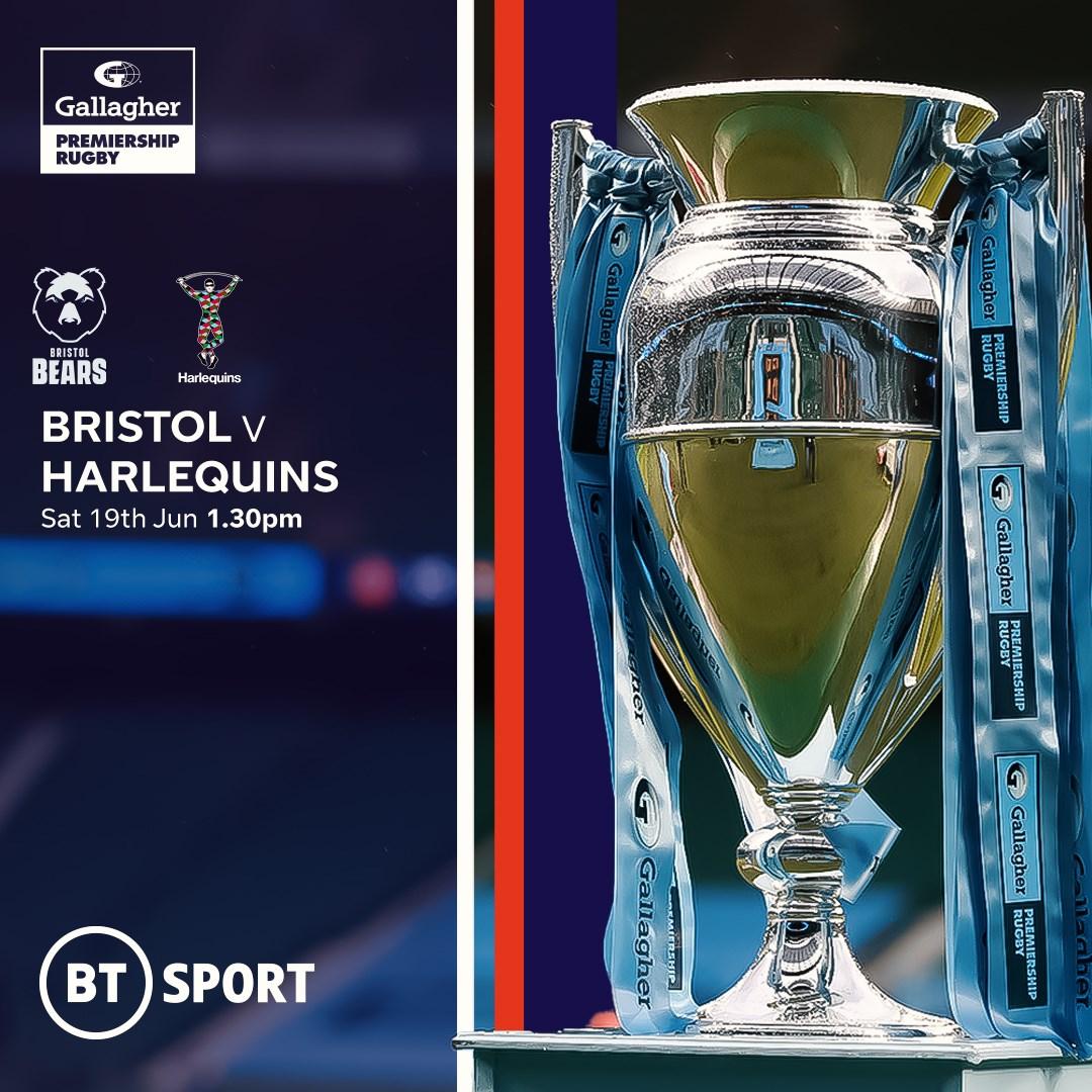 Bristol Bears v Harlequins (Rugby Union - English Premiership)