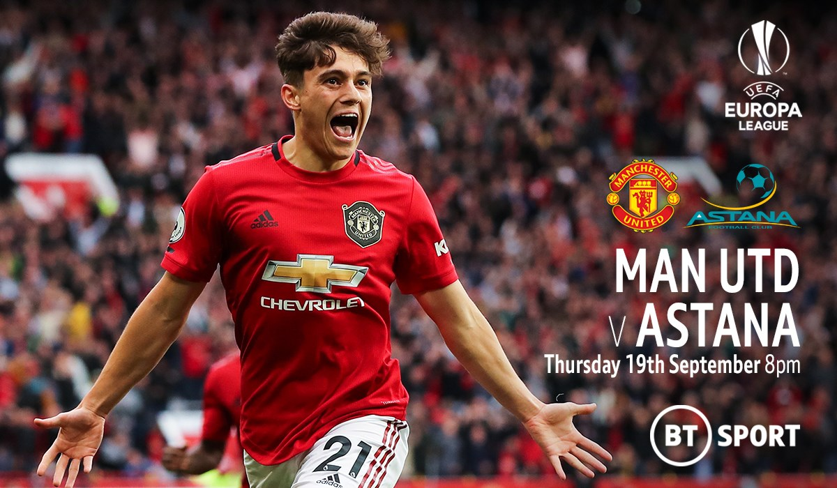 Manchester United v Astana (Europa League)