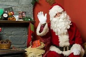Visit Santa in his Colton Grotto