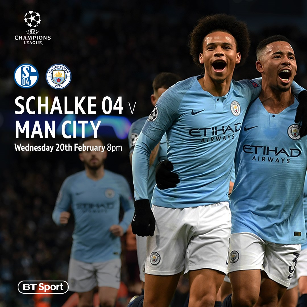 Schalke v Manchester City (Champions League)