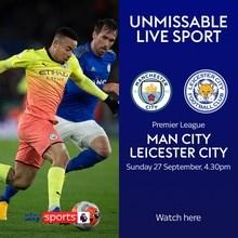 Manchester City v Leicester City (Premier League)