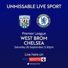 West Brom v Chelsea (Premier League)