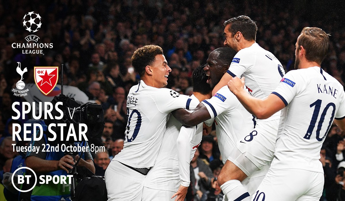 Tottenham v Red Star (Champions League)