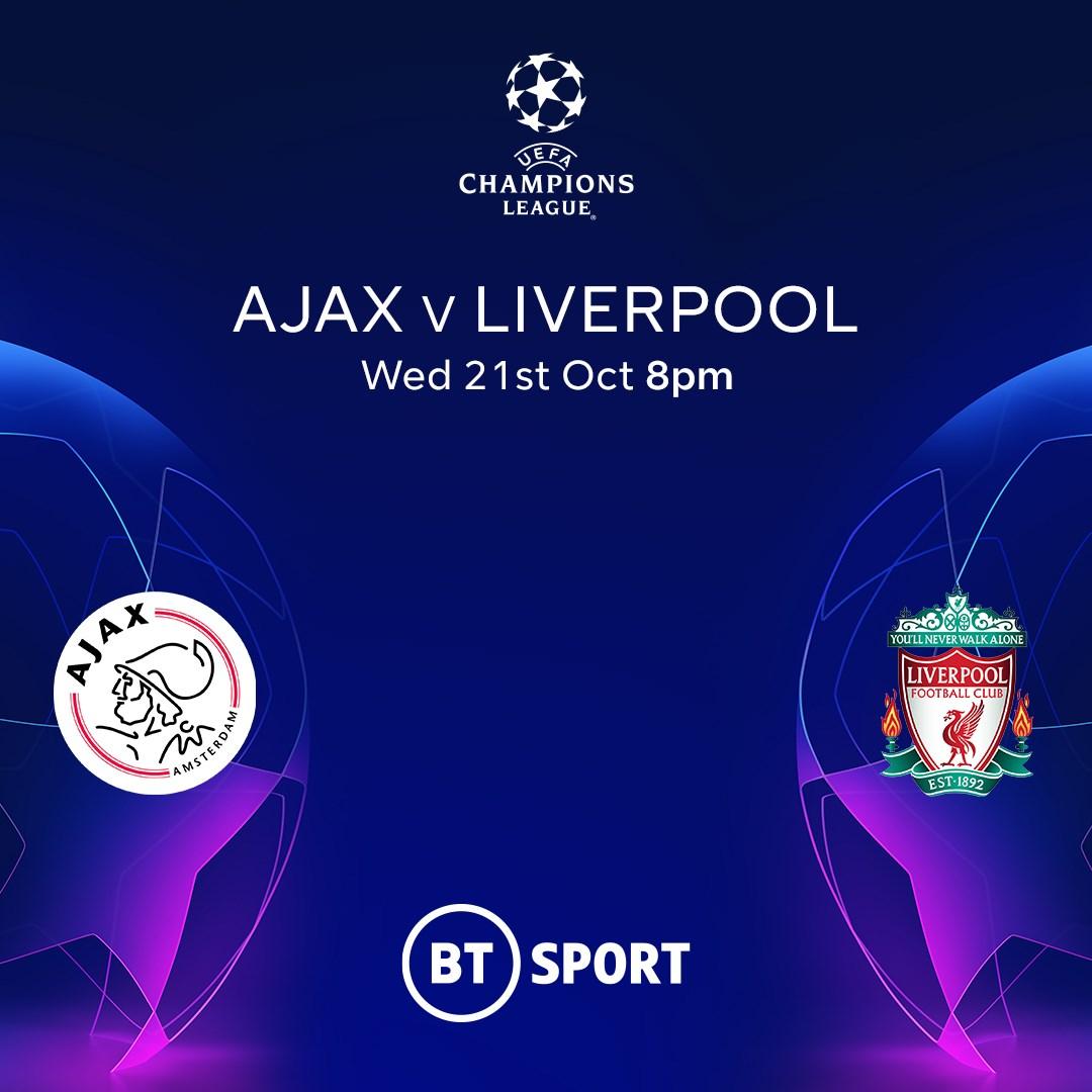 Ajax v Liverpool (Champions League)