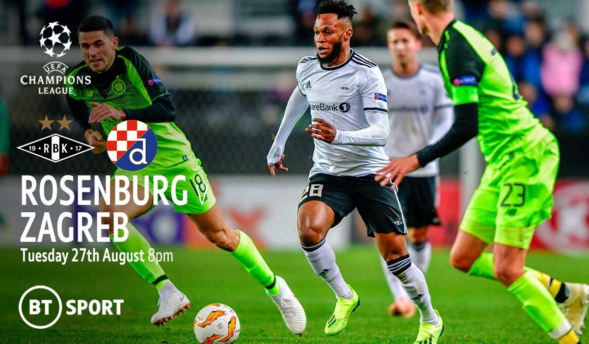 Rosenborg v Dinamo Zagreb (Champions League)