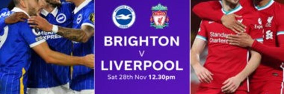 Brighton v Liverpool (Premier League)