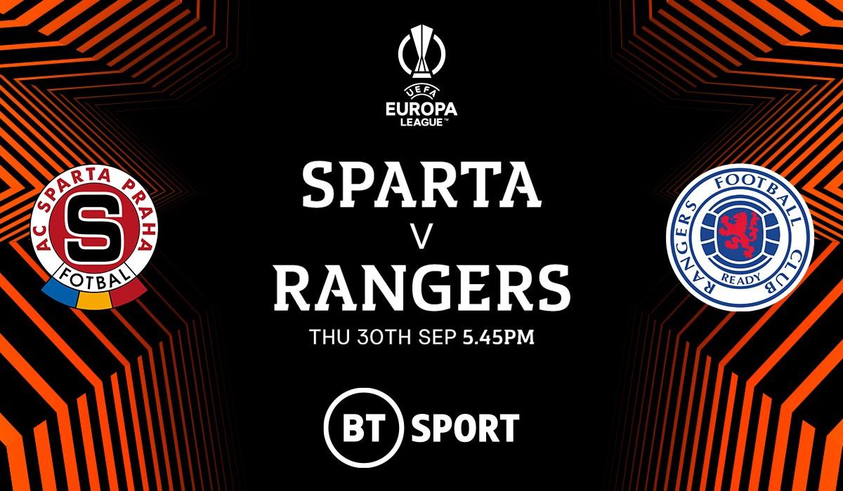 Sparta Prague v Rangers (Europa League)